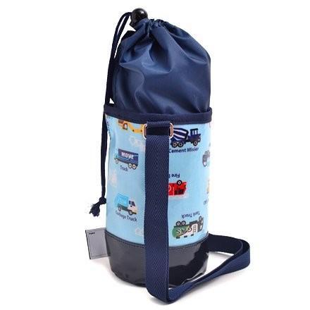 水筒カバー 小 ショルダー アクセル全開はたらく車(ライトブルー) N7305400 hachistore