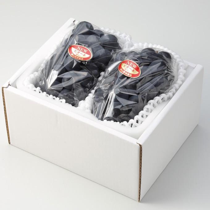 ぶどう ニューピオーネ 青秀 500g×2房 岡山県産 JAおかやま 葡萄 ブドウ|hachiya-fruits|02