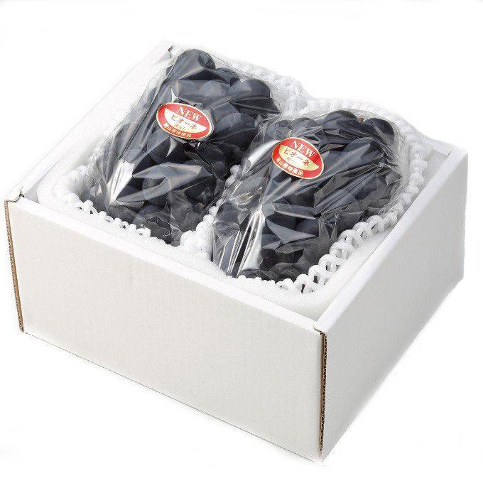 ぶどう ニューピオーネ 優品 500g×2房 岡山県産 JAおかやま 葡萄 ブドウ|hachiya-fruits|02