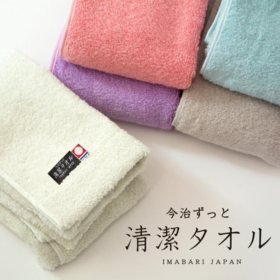 今治タオル フェイスタオル 今治 日本製 厚手 除菌フェイスタオル 臭わない 今治ずっと清潔タオル 5色 白 ブラウン ピンク ブルー パープル|hacoon