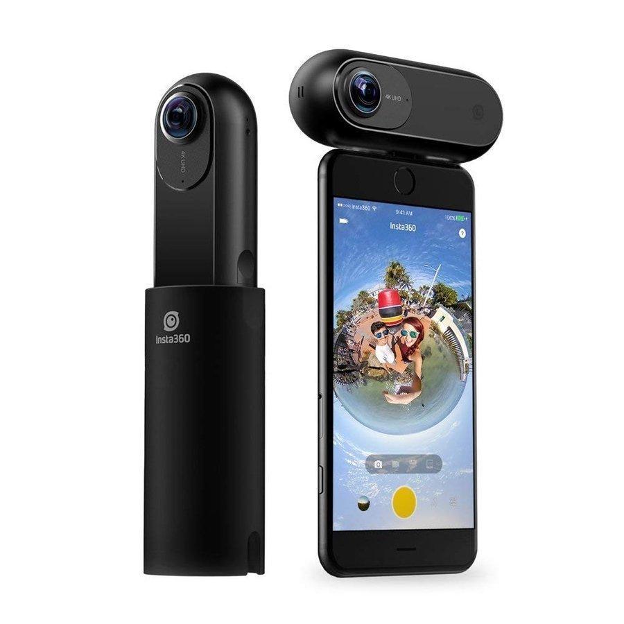 Insta360 ONE 360度カメラ 4K動画 7K静止画 国内正規品 専用本革ケース付き|hacoscoshop|02