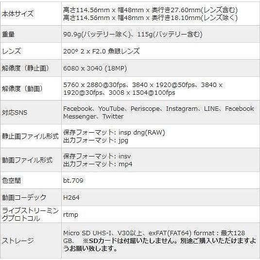 Insta360 ONE X 5.7K動画 手ブレ補正 360度バレットタイム 高速WiFi iphone/Android対応 国内正規品|hacoscoshop|07