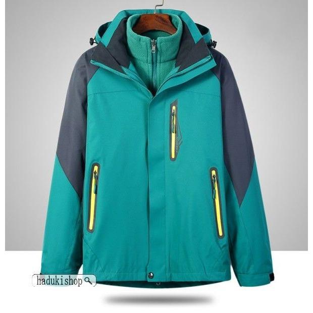 スノーボードウェア スキーウェア マウンテンジャケット 登山用 アウトドア ジャケット 防風 防寒 メンズ レディース 大きいサイズ 2点セット hadukishop 20