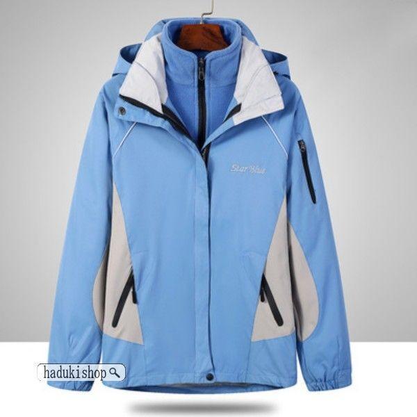 スノーボードウェア スキーウェア マウンテンジャケット 登山用 アウトドア ジャケット 防風 防寒 メンズ レディース 大きいサイズ 2点セット hadukishop 07