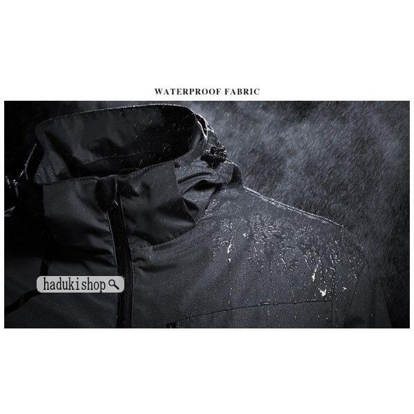 スノーボードウェア スキーウェア マウンテンジャケット 登山用 アウトドア ジャケット 防風 防寒 メンズ レディース 大きいサイズ ファッション|hadukishop|04