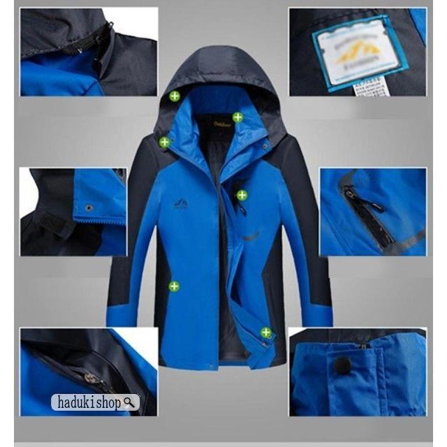 スノーボードウェア スキーウェア マウンテンジャケット 登山用 アウトドア ジャケット 防風 防寒 メンズ レディース 大きいサイズ ファッション|hadukishop|05