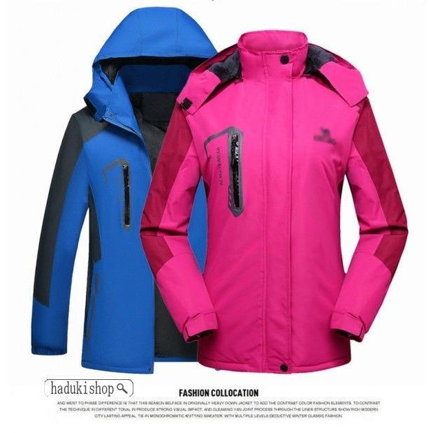スノーボードウェア スキーウェア マウンテンジャケット 登山用 アウトドア ジャケット 防風 防寒 メンズ レディース 大きいサイズ ファッション|hadukishop|12