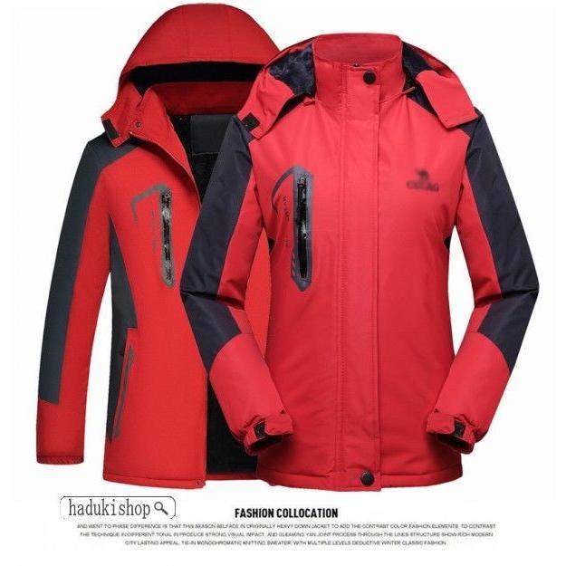 スノーボードウェア スキーウェア マウンテンジャケット 登山用 アウトドア ジャケット 防風 防寒 メンズ レディース 大きいサイズ ファッション|hadukishop|15