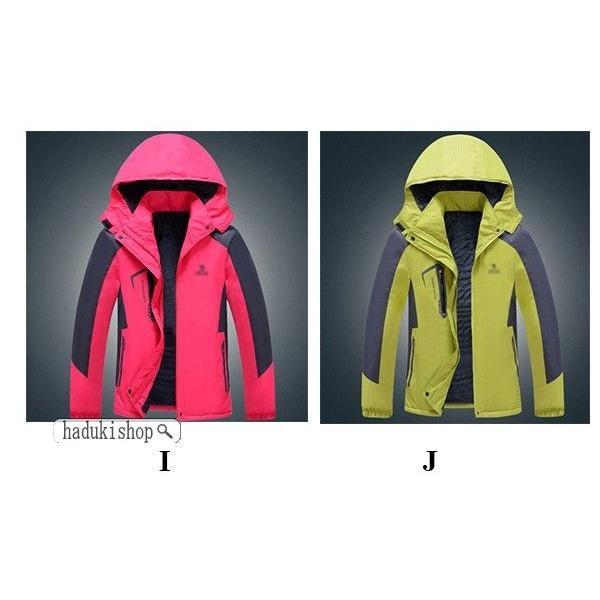 スノーボードウェア スキーウェア マウンテンジャケット 登山用 アウトドア ジャケット 防風 防寒 メンズ レディース 大きいサイズ ファッション|hadukishop|19