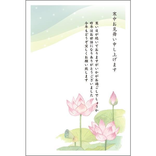 10枚  寒中見舞いはがき 寒中見舞い ハガキ 葉書 KST-12|hagaki