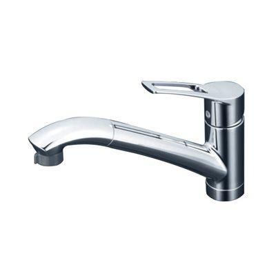 KVK:流し台用シングルレバー式シャワー付混合栓 型式:KM5031ZT