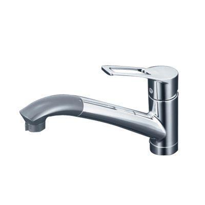 KVK:流し台用シングルレバー式シャワー付混合栓 型式:KM5031Z