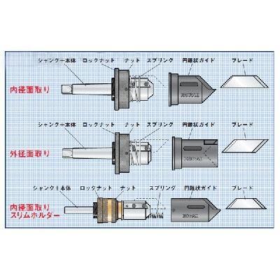 ノガ・ジャパン:円錐状ガイド 型式:KP02-535