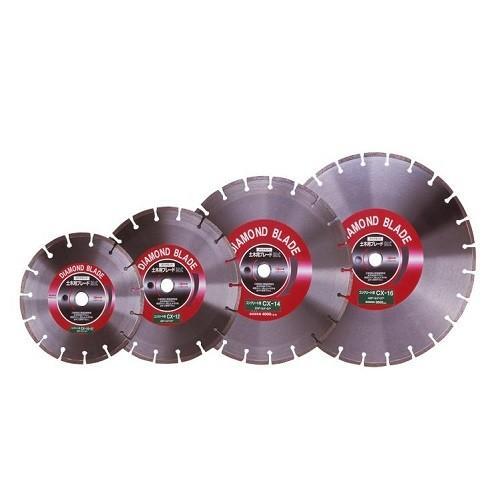 ロブテックス:ダイヤモンド土木用ブレード(湿式・コンクリート用) 型式:CX12