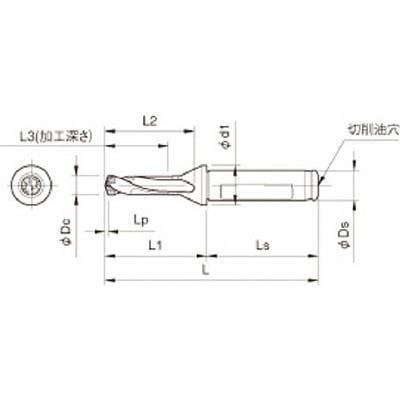 京セラ:京セラ ドリル用ホルダ SF12-DRC095M-3 型式:SF12-DRC095M-3