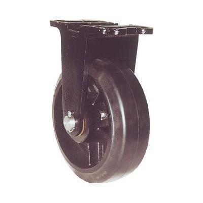 ヨドノ:ヨドノ 鋳物重量用キャスター 許容荷重338.1 取付穴径13mm MHA-MK150X75 型式:MHA-MK150X75