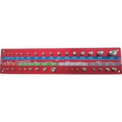 ダイドーハント:ダイドーハント ねじチェッカー ナット・ワッシャー用 赤 00092601 型式:00092601