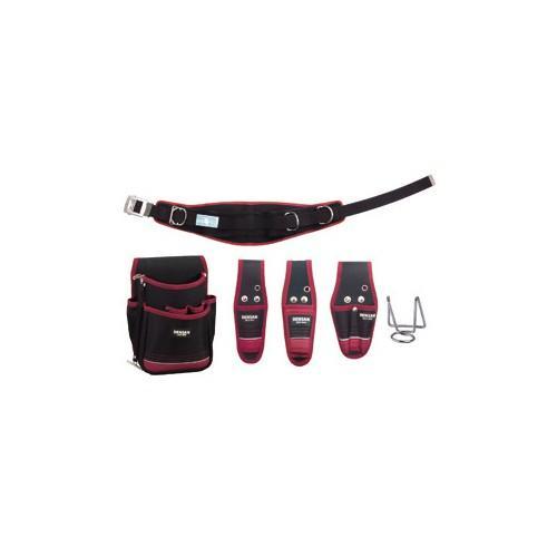 ジェフコム:キャンバス腰道具セット 型式:JNDS2-R300BK-SET