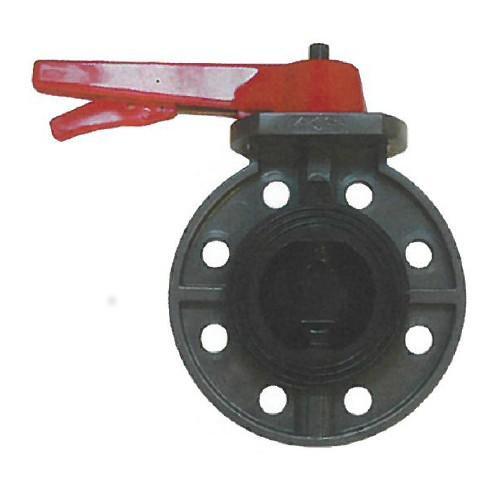 橋本産業:バタフライバルブ 型式:BF902-150A(フランジ/EPDM)