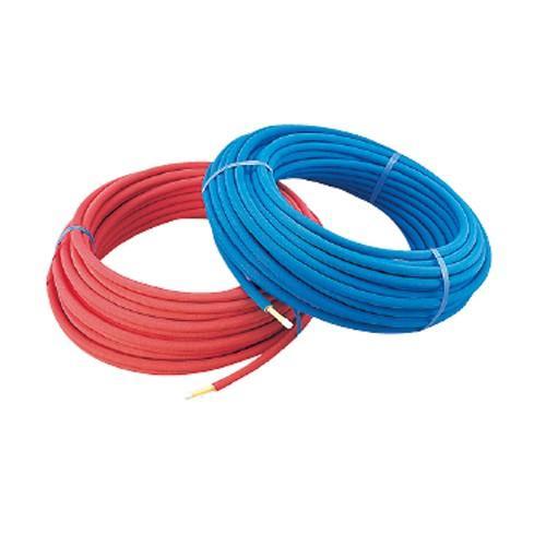 カクダイ:保温材つき架橋ポリエチレン管 型式:672-115-50B