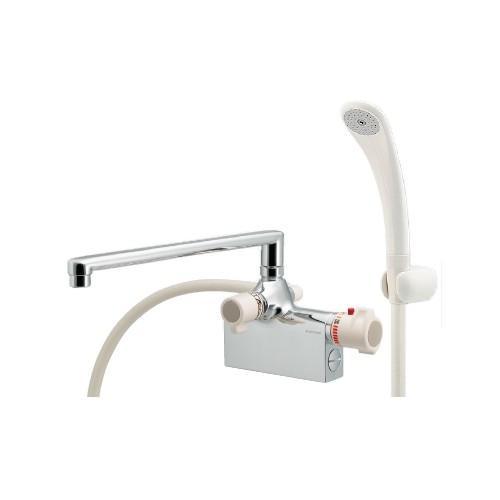 カクダイ:サーモスタットシャワー混合栓(デッキタイプ) 型式:175-010