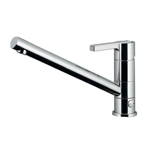 カクダイ:シングルレバー混合栓(分水孔つき) 型式:117-108