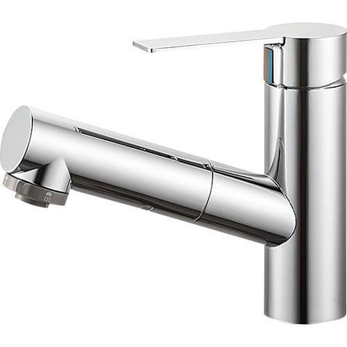 SANEI(旧:三栄水栓製作所):シングルスプレー混合栓(洗髪用) 型式:K37531JV-13