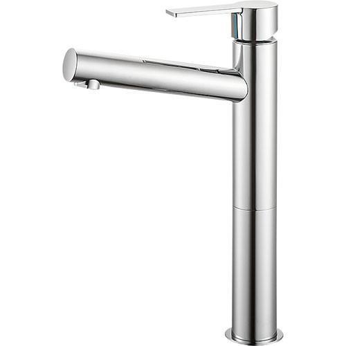 SANEI(旧:三栄水栓製作所):シングルワンホール洗面混合栓 型式:K4750NV-2T-13