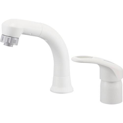 SANEI(旧:三栄水栓製作所):シングルスプレー混合栓(洗髪用) 型式:K37610EJK-13