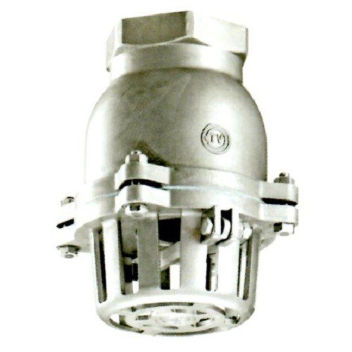 日東バルブ:ステンレス製捻子込レバーなしフートバルブ 型式:930-32A