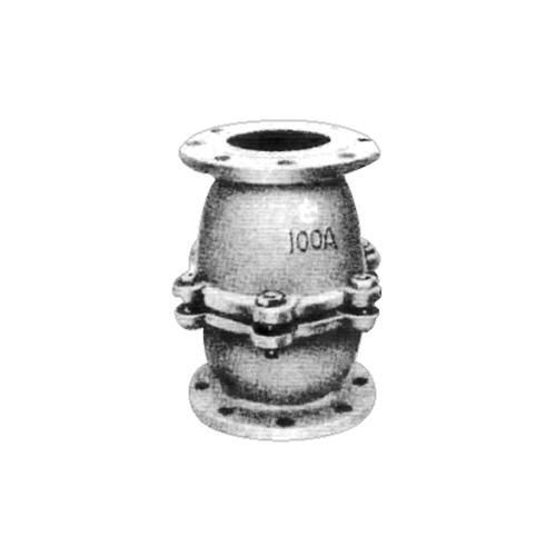 日東バルブ:FC製フランジ型鋳鉄製10K・5Kフランジ型T板式中間フートバルブ 型式:805-125A