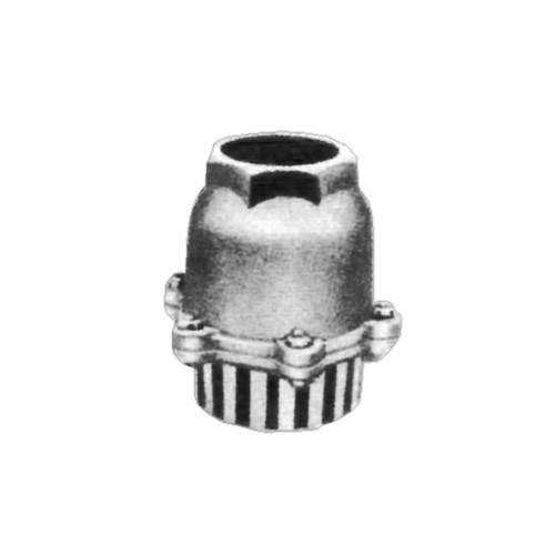 日東バルブ:FC製捻子込型鋳鉄製捻子込T板式レバーなしフートバルブ 型式:837-150A