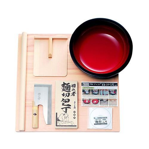 豊稔企販:麺打セット DVD付 型式:A-1015