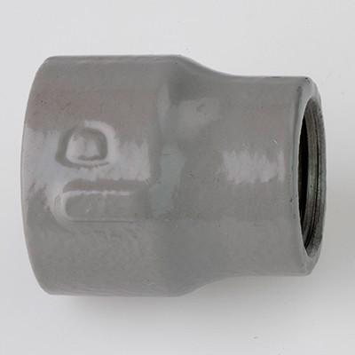 帝国金属:プラコート継手 径違いソケット 一段落ち(お買い得パック) 型式:RS-3/4×1/2-プラ(1セット:140個入)