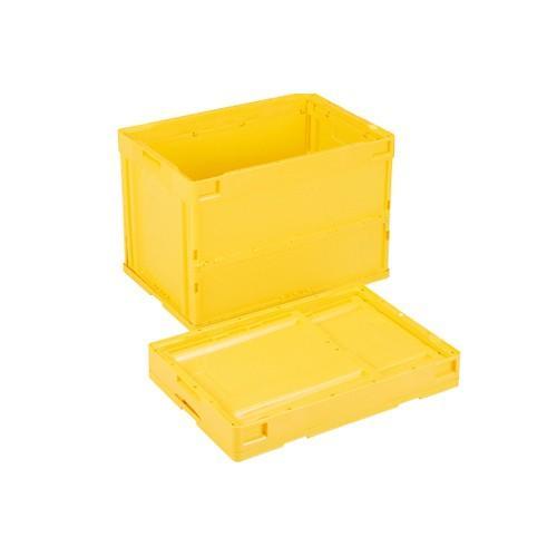 岐阜プラスチック工業:折りたたみコンテナー 型式:CB-S61NR-Y(1セット:5個入)