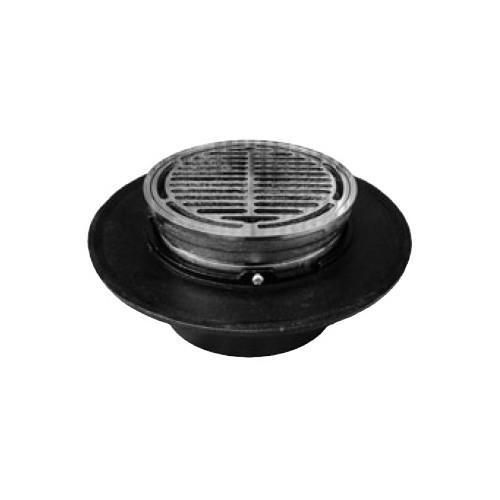 伊藤鉄工(IGS):樹脂製椀付き (ステンレス製目皿、枠付き)床排水トラップ 型式:T5BYS 100
