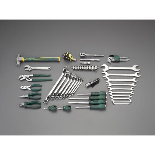 エスコ:[54個組] 工具セット 型式:EA55
