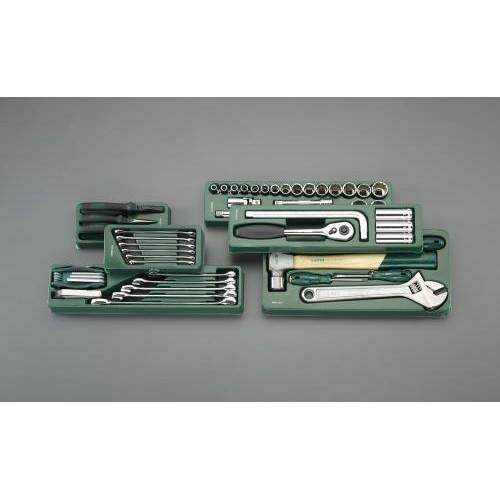 エスコ:[69個組] 工具セット 型式:EA689SE-2