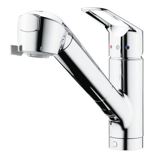 タカギ:シングルレバー混合栓(ワンホール型) 型式:JL307MK-9NY201(寒冷地用)