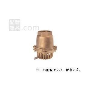 大阪継手バルブ製作所:オール砲金フートバルブ レバーなし <40> 型式:40-50