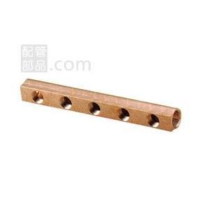 オンダ製作所:ヘッダー 青銅製 型式:SRH-2007-S(1セット:6個入)