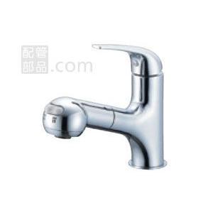 SANEI(旧:三栄水栓製作所):シングルスプレー混合栓(洗髪用) 型式:K3703JK-13