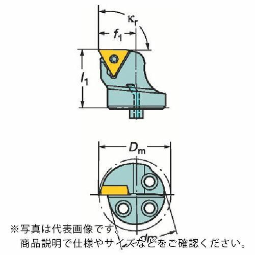 サンドビック コロターンSL コロターン107用カッティングヘッド 570-STFCR-32-16 ( 570STFCR3216 )
