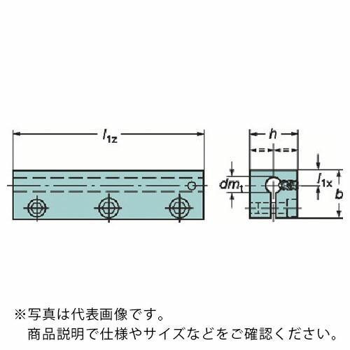 サンドビック 丸シャンクバイト用イージーフィックス角シャンクスリーブ 131-2516-B ( 1312516B )