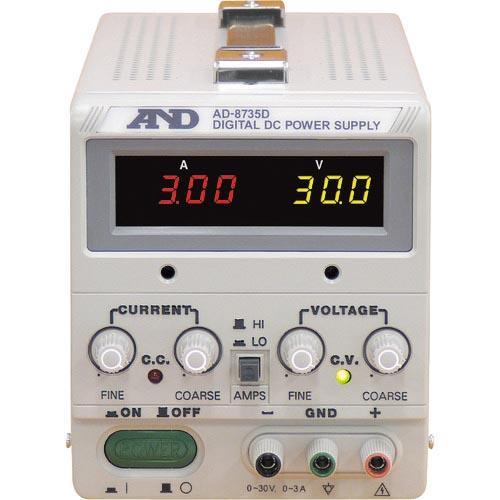 A&D 直流安定化電源トラッキング動作可能LEDデジタル表示 AD8735D ( AD8735D ) ) ) c4d