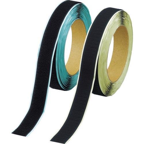 TRUSCO マジックテープ 弱粘着タイプ 100mmX5m 黒(1巻=1セット) TPD-1005MTS-BK ( TPD1005MTSBK )