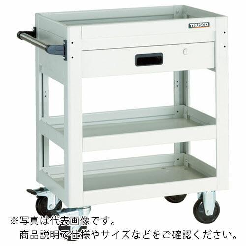 TRUSCO ツールワゴン ドルフィン 750X500 1段引出 YG色 DLWS-973V-YG ( DLWS973VYG )