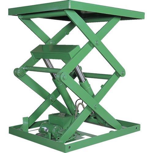 アカシン 怪力くん 1tonシリーズ 2段 テーブル900×950mm 2ATL-11S ( 2ATL11S )