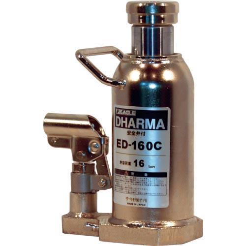 イーグル クリーンルームレバー回転油圧ジャッキ能力16t ED-160C ( ED160C )
