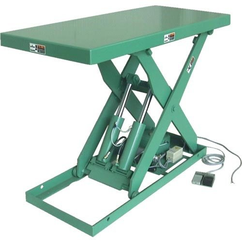 河原 標準リフトテーブル Kシリーズ 均等荷重1000kg  600X1050 K-1006 ( K1006 )